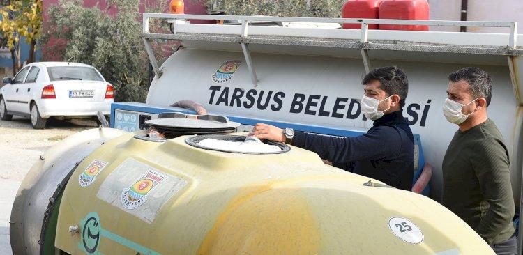 Tarsus Belediyesi Salgınla Mücadelede Ekip Sayısını Artırdı
