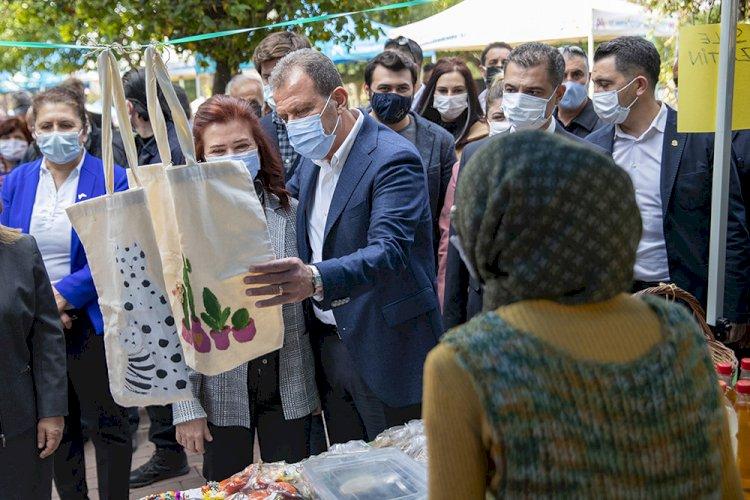 Kadın Üreticiler Bu Kez Standlarını Tarsus'ta Açtı