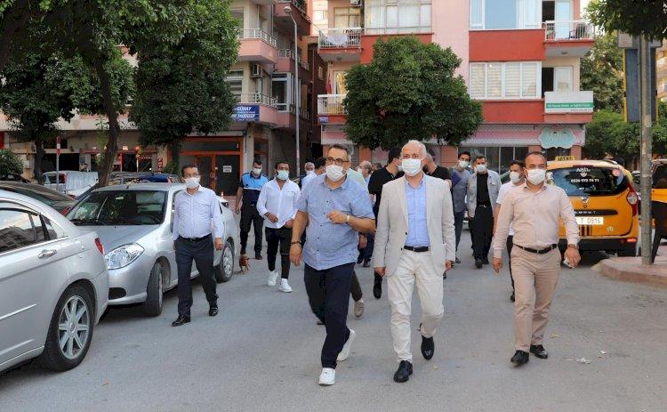 Akdeniz Belediye Başkanı Gültak; Çamlıbel'i ziyaret etti