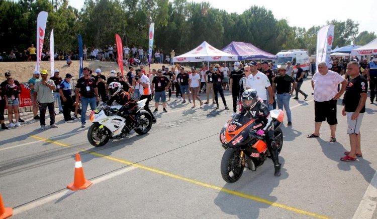 Akdeniz Belediyesi, Motosiklet Tutkunlarını 'Motodrag' Yarışlarında Buluşturdu
