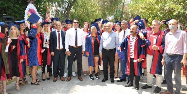 Mersin Mesleki Eğitim Merkezi İlk Lise Diplomalarını Verdi