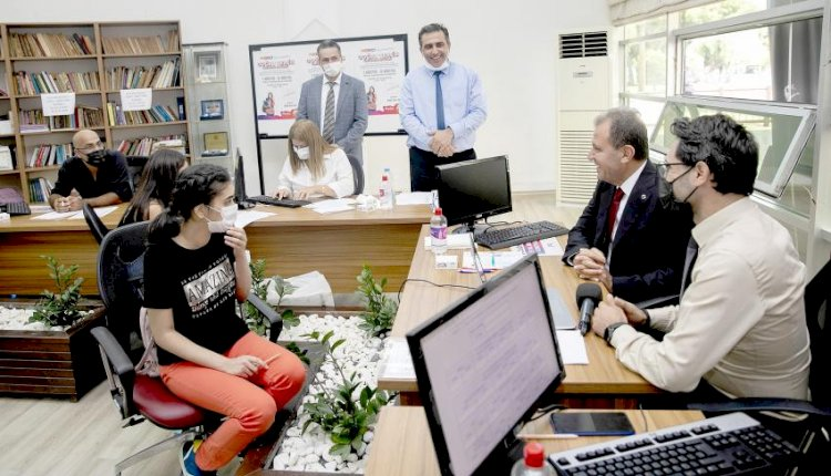 Başkan Seçer, Büyükşehir'in Üniversite Tercih Danışmanlığı Desteğinden Faydalanan Öğrencilerle Buluştu
